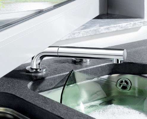 Periscope Blanco Kitchen Taps