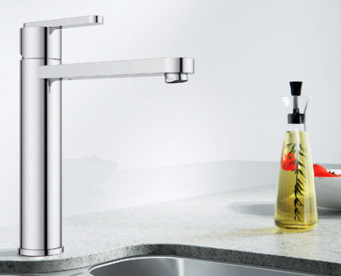 Plato Blanco Kitchen Taps
