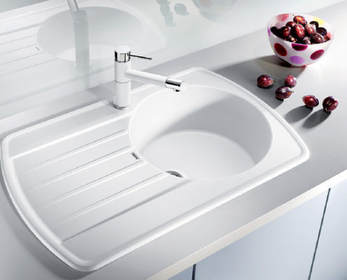 Rondoval Blanco Kitchen Sink