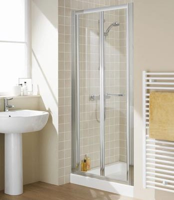 Semi-Frameless Bi-Fold Shower Door