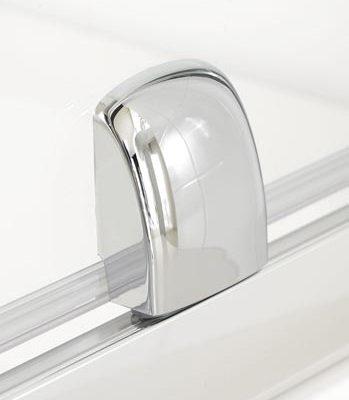 Semi-Frameless Pivot Shower Door