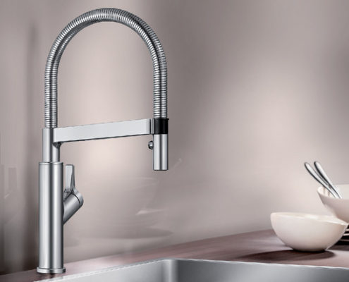 Solenta Blanco Kitchen Taps