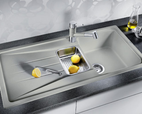 Sona Blanco Kitchen Sink