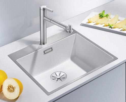 Subline Blanco Kitchen Sink