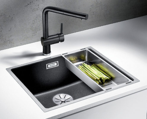 Subline Blanco Kitchen Sink