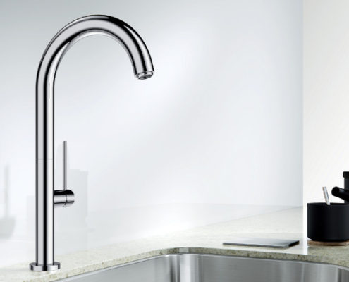 Trim Blanco Kitchen Taps