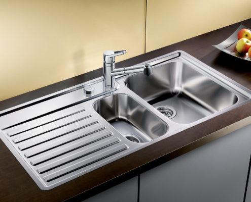 Vektris Blanco Kitchen Sink