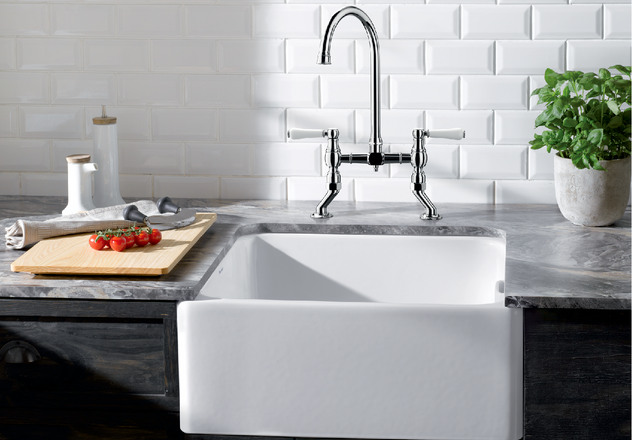 Vicus Blanco Kitchen Taps