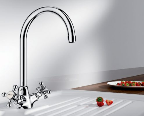 Vista Blanco Kitchen Tap