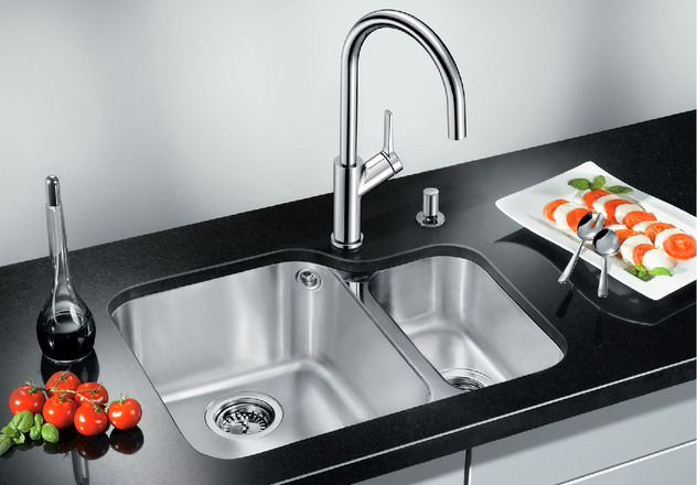 Ypsilon Blanco Kitchen Sink