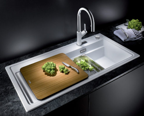 Zenar Blanco Kitchen Sink