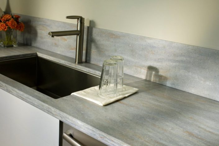 Juniper Corian Kitchen Worktop