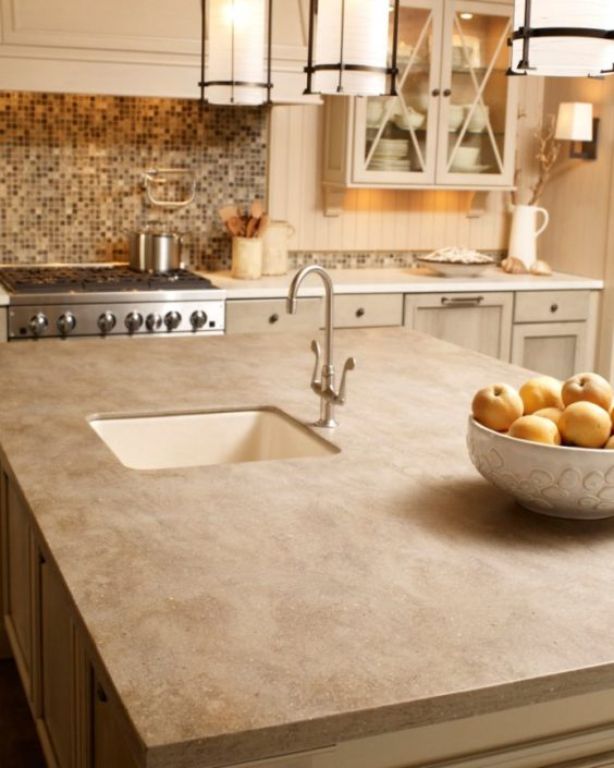Sonora Corian Kitchen Worktop