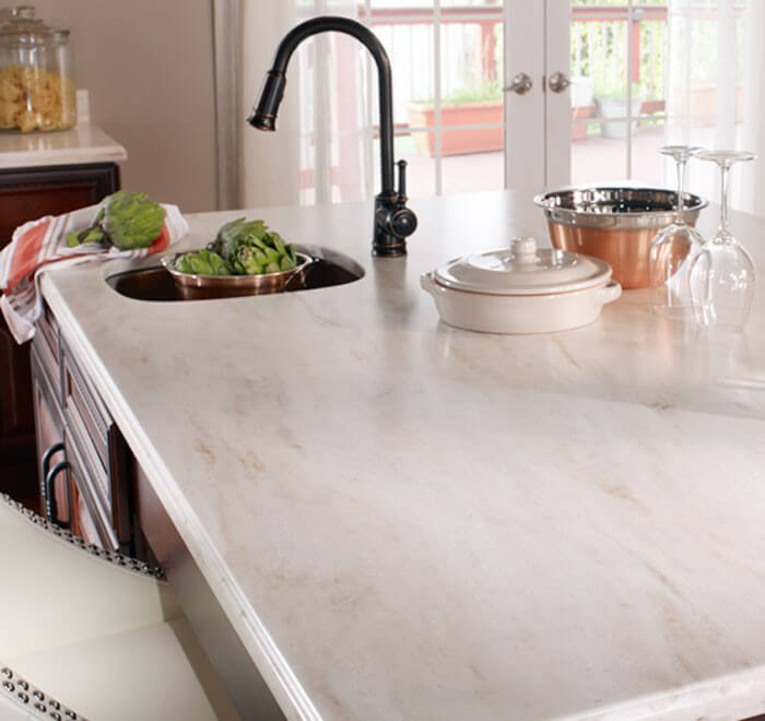 Witch Hazel Corian Kitchen Worktop