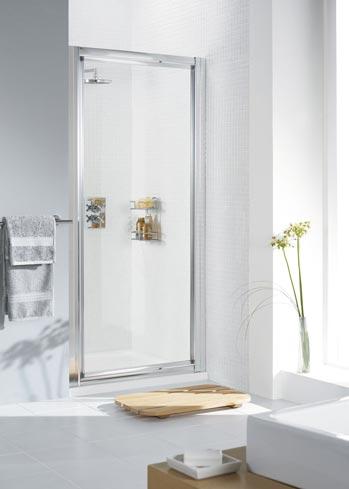 Framed Pivot Shower Door