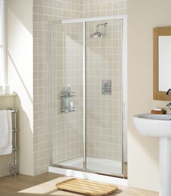 Framed Slider Shower Door