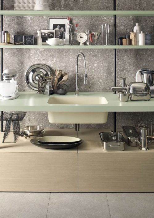 Utilitarian Smart Corian Kitchen Worktop