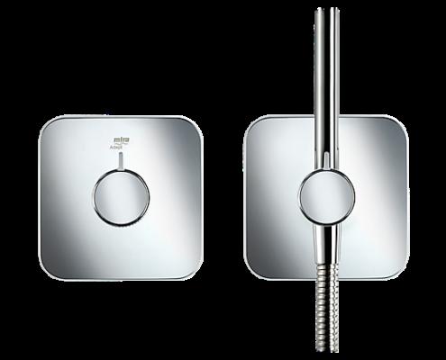 Mira Adept Shower Power Buttons