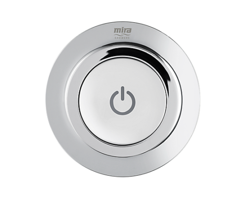 Mira Mode Ceiling Fed Shower Power Button