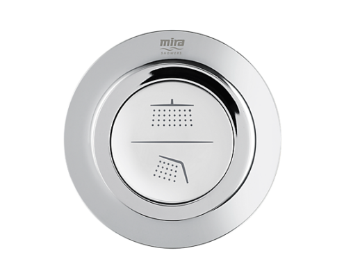 Mira Mode dual Fed Shower Style Button