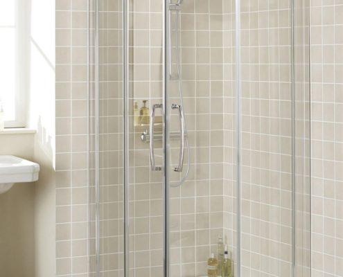 Semi-Frameless Shower Enclosure
