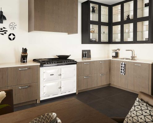 Wildenborch Grey Traditional Kitchen
